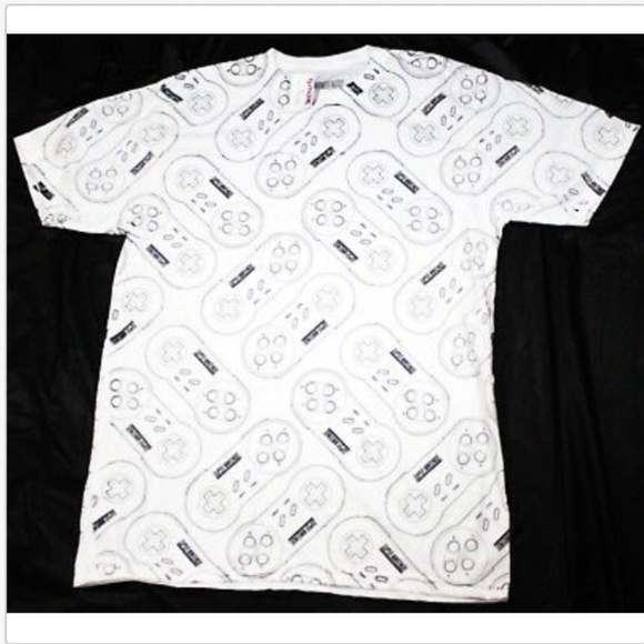 ee2c3ac6 Nintendo Shirts | Snes Super Controllers Retro Game T Shirt | Poshmark